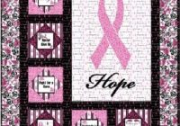 New pin on free quilt patterns 10 Elegant Breast Cancer Ribbon Quilt Pattern Inspirations