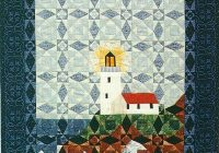 New q109 light in the storm quilt pattern in 2 sizes 9 Cool Lighthouse Quilt Patterns Gallery