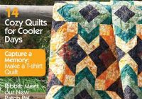 new quilt design rudeneja in quiltmaker magazine september Cozy The Quilt Pattern Magazine