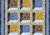 New quilt inspiration free pattern day attic windows quilts 10 Stylish Attic Windows Quilt Patterns Inspirations