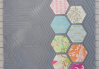 New reannalily designs sewing and pattern company 11 Modern Modern Hexagon Quilt Patterns Inspirations