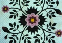 New rose of sharon quilt free quilt patterns 10 Beautiful Rose Of Sharon Quilt Pattern Inspirations