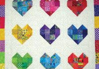 New scrappy sweethearts quilt pattern 11 New Easy Quilt Patterns For Kids Gallery