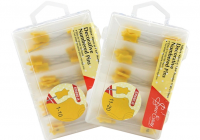 New sew easy yellow numbered pins box of 200 pins 9317385286594 10 Beautiful Numbered Pins For Quilting And Sewing Inspirations