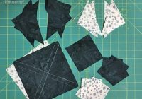 New snowflake quilt block pattern 5 7 12 and 10 finished 11 Beautiful Snowflake Quilt Block Pattern
