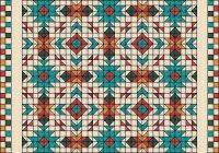 New southwest quilt pattern southwest quilt nativ american 9 Stylish Southwestern Quilt Patterns