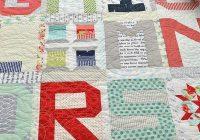 New spell it with moda alphabet quilt quilt patterns 11 Interesting Alphabet Quilt Block Patterns Gallery