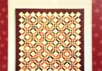 New sticks stones honey bun pattern sandy gervais 1108 9 Elegant Honey Bun Quilt Patterns Inspirations