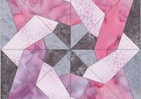 New tangled star quilting template pattern 10 inch block 11 Modern Quilting Templates Patterns