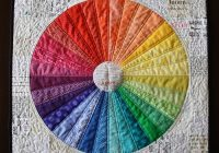 New the motley wheel mama love quilts Color Wheel Quilt Pattern