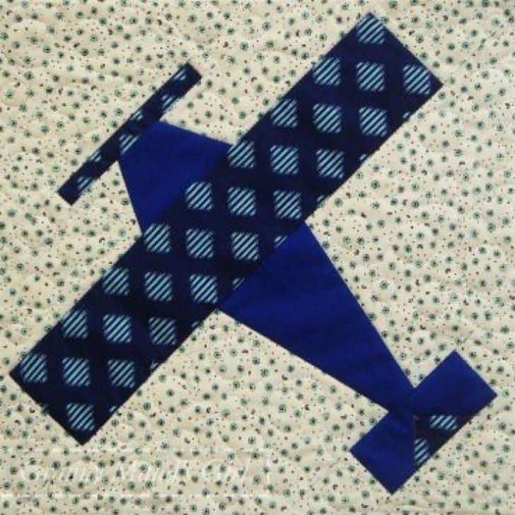 Permalink to Stylish Airplane Quilt Block Pattern