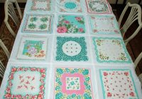 New vintage hankie quilt only looks difficult quilting digest 9 Unique Handkerchief Quilt Pattern Inspirations