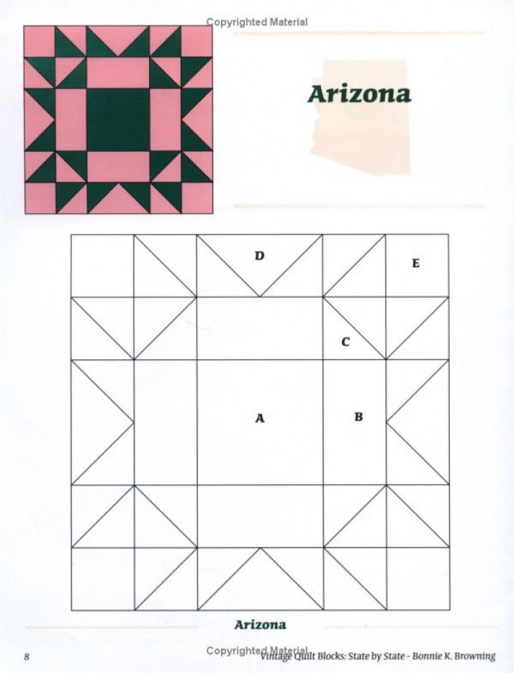 Permalink to 9 Beautiful Vintage Quilt Blocks State By State Gallery