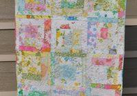 New vintage sheet log cabin quilt vicki flickr Unique Vintage Sheet Quilt Gallery