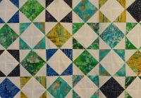 New what a gem quilt pattern a half square affair 9 Stylish Half Square Triangle Quilt Layouts Gallery