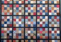 newfoundland heritage quilts william morris 16 patch bed Cool Newfoundland Haritage Quilt Patterns Gallery