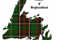 newfoundland map with tartan inset newfoundland in 2020 Cool Newfoundland Haritage Quilt Patterns Gallery