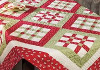 nine nine table topper pattern Cool Quilted Table Topper Patterns Inspirations