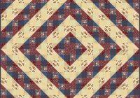 nine patch variation quilt favecrafts Nine Patch Quilt Pattern Variations