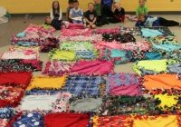 no sew fleece blankets for childrens mercy sunnyside Cozy No Sew Tshirt Quilt Gallery