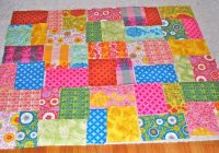 no sew projects crafterhours Unique No Sew Quilt Patterns Gallery