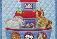 noahs ark quilt pattern Modern Animal Patchwork Quilt Patterns Gallery