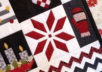 nordic christmas quilt pattern christmas quilts Modern Scandinavian Quilt Patterns Gallery
