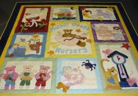 nursery rhymes quilts quilting gallery Unique Mother Goose Quilt Pattern Inspirations