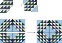 ocean waves quilt pattern and instructions Stylish Ocean Wave Quilt Pattern Gallery