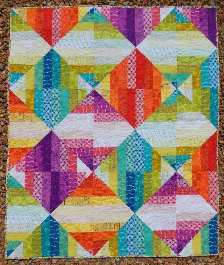 Permalink to Interesting Quilt Patterns Using Jelly Rolls Gallery