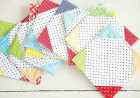 one easy block makes a charming set of coasters quilting Interesting Quilted Coasters Pattern Inspirations