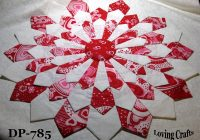 one valentine center piece dresden plate quilt blocks 16 12 Cozy Dresden Plate Quilt Block Pattern