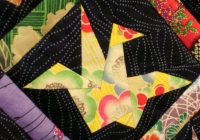 origami crane from margaret rolfes peace quilt japanese Modern Origami Crane Quilt Pattern Gallery