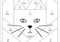paper piecing patterns free printables bing images Stylish Free Printable Cat Quilt Patterns