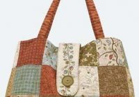 paris charms patchwork tote free bag sewing patterns Unique Quilted Purses And Handbags Patterns Gallery