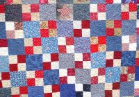 pat quiltz too double four patch finished Elegant Double Four Patch Quilt Pattern Gallery