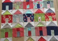 pat sloan villages sew along how to sew the roof moda Unique Pretty Houses Quilt Book Inspirations