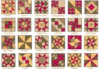patchwork patterns with names quilt blocks quilt Elegant Quilt Block Pattern Names Gallery
