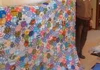 patchwork quilt designs hexagons feltmagnet Unique Hexagon Patchwork Quilt Patterns Gallery