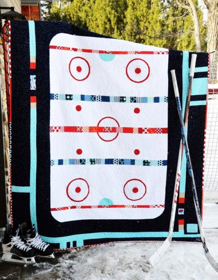 Permalink to The Good Ole Hockey Game Quilt Pattern