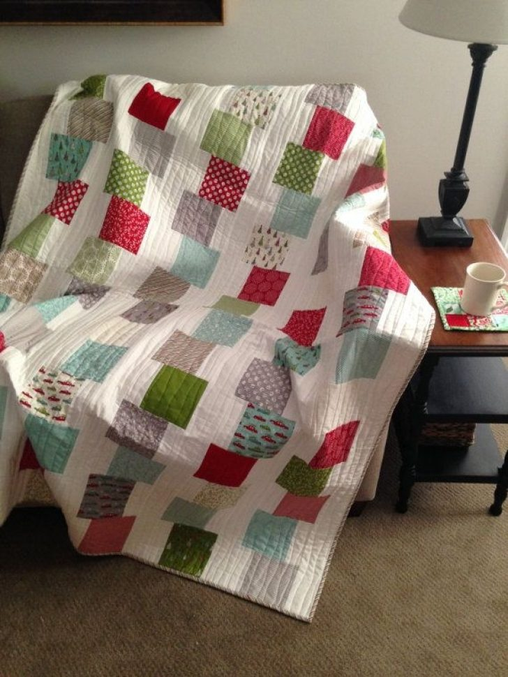 Permalink to Modern Building Blocks Quilt Pattern
