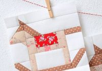 pdf christmas quilt pattern rocking horse quilt block etsy Elegant Rocking Horse Block Quilt Pattern Inspirations