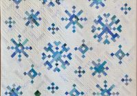 pdf quilt pattern digital pattern for new slant on snowflakes quilt christmas quilt holiday quilt Stylish Snowflake Quilt Patterns