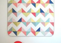 pdf sunny chevron quilt pattern for both a throw queen size quilt this is a pdf for digital download Modern Chevron Quilt Pattern Queen Inspirations