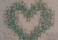 personalized family heart quilt quilts heart quilt Stylish Watercolor Heart Quilt Pattern