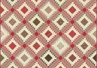 petites maisons de noel quilt kit quilt pattern moda fabric french general Modern French General Fabric Quilt Patterns Inspirations