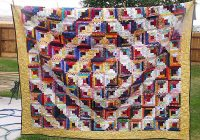 photo gallery and layout tips for log cabin quilts Log Cabin Variations Quilt Patterns Inspirations