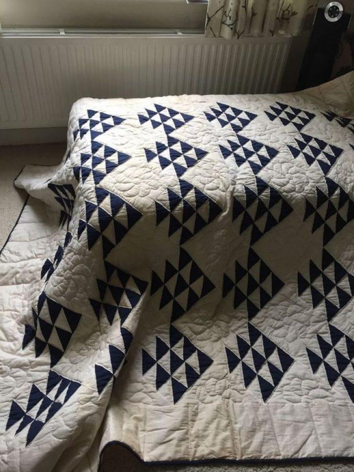 Permalink to Vintage Indigo Quilt Gallery