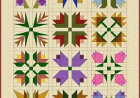 pin bobbie jo king white on quilting easy quilt Cozy Flower Quilt Block Patterns