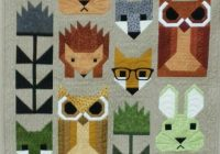 pin helen cassidy on quilts elizabeth hartman pinterest Modern Animal Patchwork Quilt Patterns Gallery